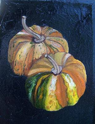 Painting - Summer Squash Sold by Susan Dehlinger