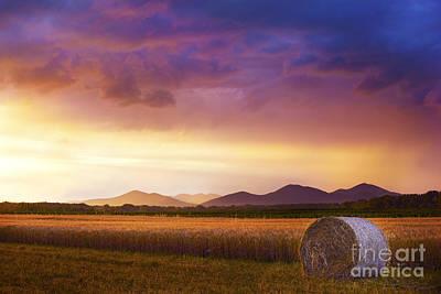 Photograph - Summer Storm by Bernadett Pusztai