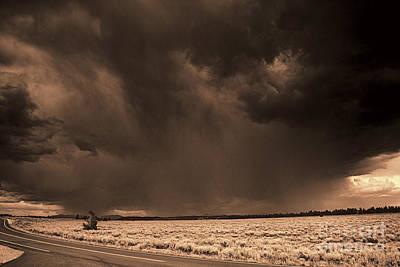 Summer Storm Art Print by Brenton Cooper