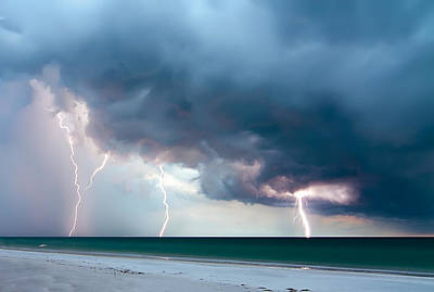 Photograph - Summer Storm by Dan Wells