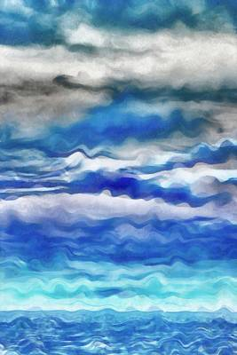 Painting - Summer Storm by Michelle Calkins