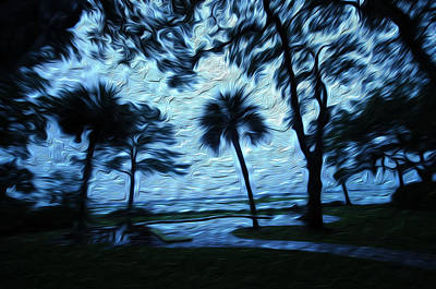 Summer Thunderstorm Painting - Summer Storm by Rick Smith
