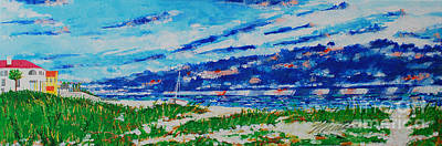 Painting - Summer Storms  by Art Mantia