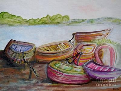 Bayside Painting - Summer Sun by Eloise Schneider