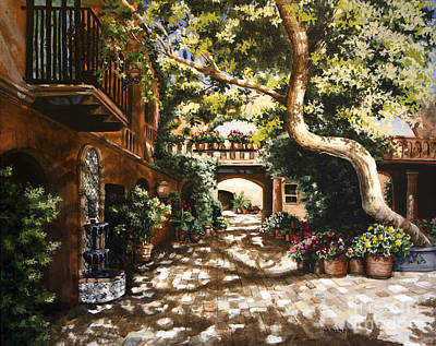 Summer Sun Art Print by Mary Palmer
