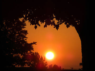 Central Il Photograph - Summer Sunrise by Thomas Woolworth