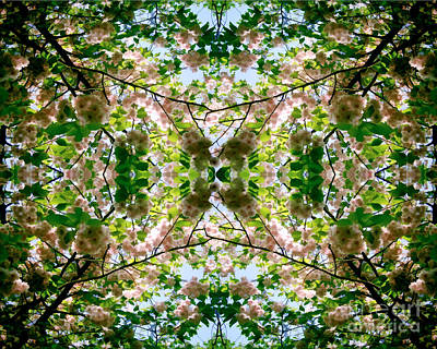 Summer Symmetry Art Print