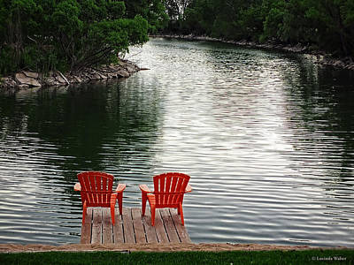 Photograph - Summer Time By The Lake by Lucinda Walter