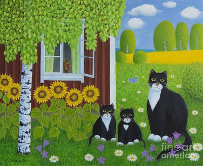Animals Paintings - Summer by Veikko Suikkanen