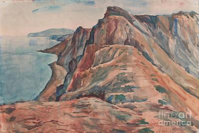 Painting - Summer View Of Koktebel by Anna Lobovikov-Katz