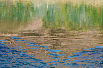 Photograph - Summer Water Reflection by Britt Runyon
