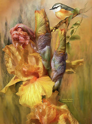 Flora Mixed Media - Summer Wonders by Carol Cavalaris