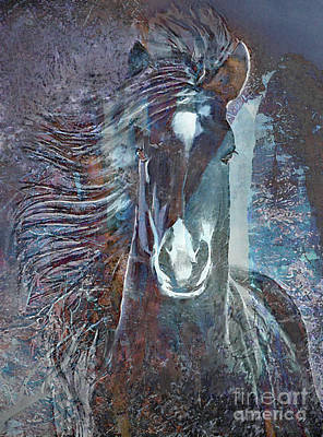 Painting - Summer Yearling by Ursula Freer