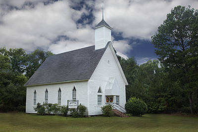 Photograph - Summerfield Methodist Church by Robert Camp