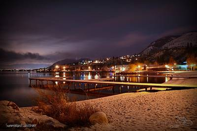 Summerland Photograph - Summerland Lakeshore by Guy Hoffman