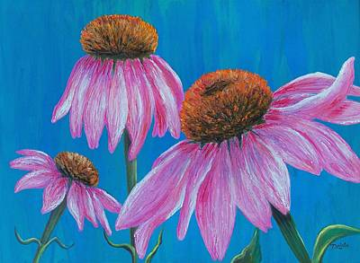 Painting - Summer's Attraction by Susan DeLain