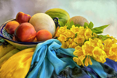 Painting - Summers Bounty by Sandra Selle Rodriguez