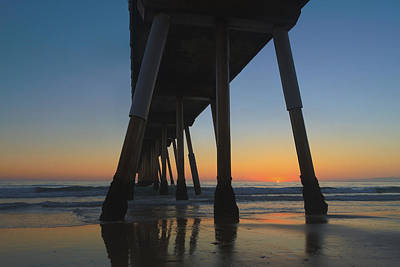 Photograph - Summer's End In Hermosa Beach by Steve Belovarich