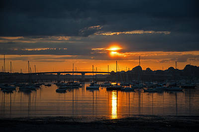 Photograph - Summers Eve by Susan  McMenamin