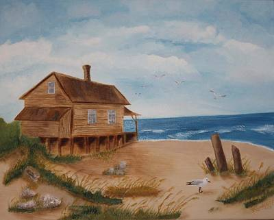Painting - Summers Over by Kimber  Butler