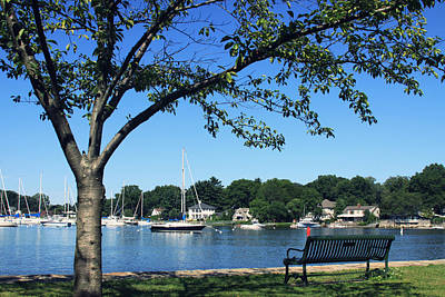 Art Print featuring the photograph Summertime At The Marina by Aurelio Zucco