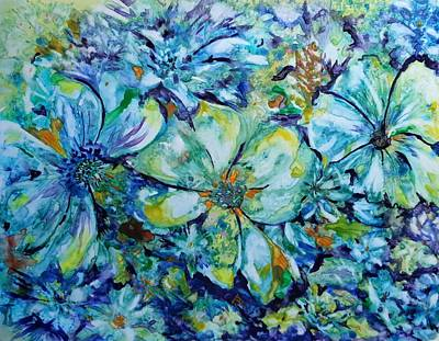 Painting - Summertime Blues by Kim Shuckhart Gunns