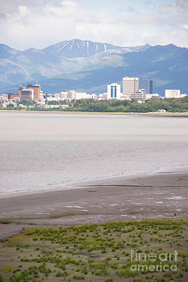 Cityscape Photograph - Summertime Bootleggers Cove Anchorage Alaska by Christopher Boswell