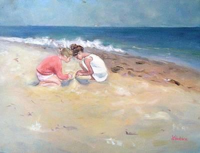 Summertime Art Print by Dorothy Siclare