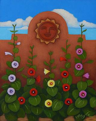 Painting - Summertime by Gayle Faucette Wisbon