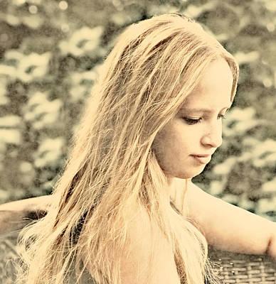 Photograph - Summertime Girl by Scott Hill