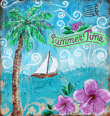 Painting - Summertime by Jan Marvin