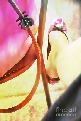 Bare Legs Photograph - Summertime by Jasna Buncic