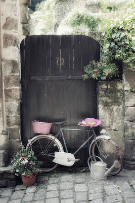 Gate Photograph - Summertime by Joana Kruse