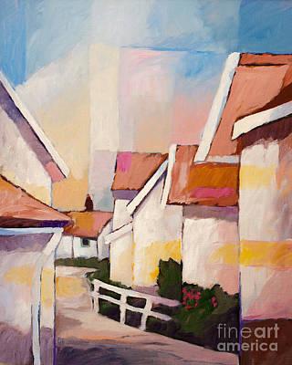 Painting - Summertime by Lutz Baar