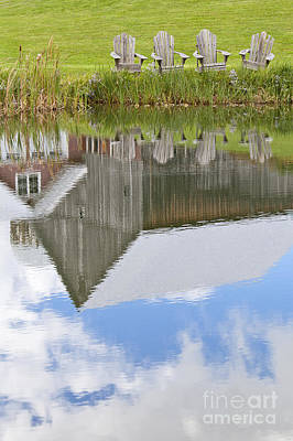 Photograph - Summertime Reflections by Alan L Graham