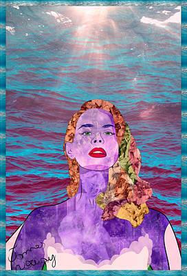 Lana Digital Art - Summertime Sadness by James Norway