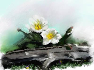 Montana Artist Painting - Summertime by Susan Kinney
