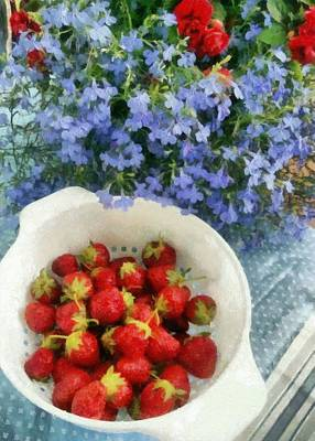 Photograph - Summertime Table by Michelle Calkins
