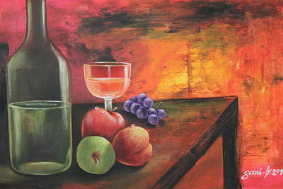 Painting - Summerwine by Gani Banacia