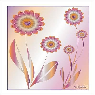 Summerwork Duvet Cover And Pillow Art Print by Iris Gelbart