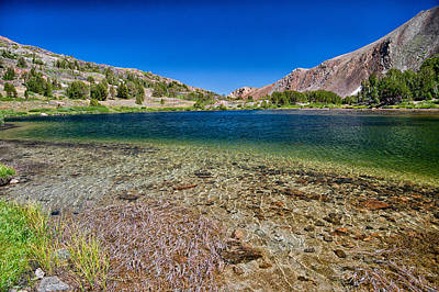 Photograph - Summit Lake by Cat Connor