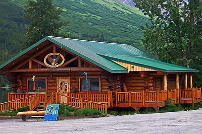 Photograph - Summit Lake Lodge Alaska 2  by Aimee L Maher Photography and Art Visit ALMGallerydotcom