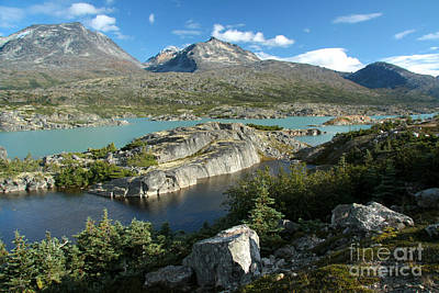 Photograph - Summit Lakes by Frank Townsley