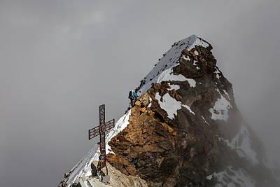 Summit Of Matterhorn Art Print by Konstantin Dikovsky
