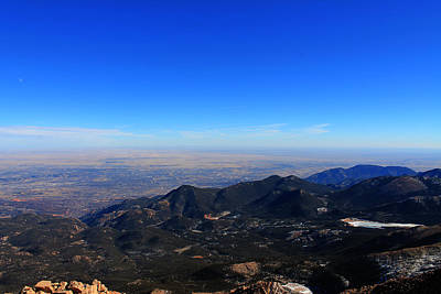 Photograph - Summit Of Pikes Peak by Elizabeth  Doran