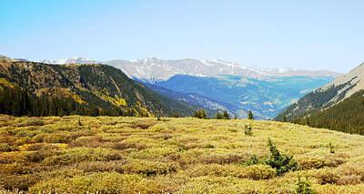 Exfoliate Photograph - Summit View In Autumn by Ann Powell