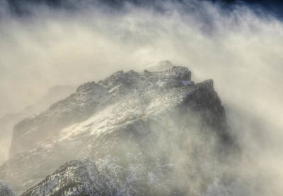 Summit Winds In Rocky Mountain National Park Art Print