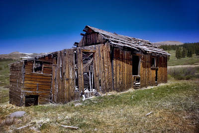 Old Town Digital Art - Summitville - Colorado Ghost Town by Ellen Heaverlo