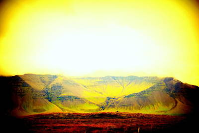 Belong Dead Photograph - The Sun Also Rises And So Do The Mountains  by Hilde Widerberg