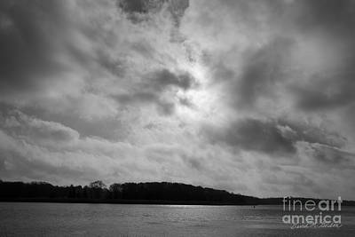 Photograph - Sun And Clouds Taunton River by David Gordon